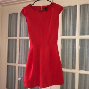 Coral Orange Dress